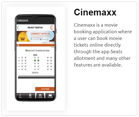 Cinemaxx App