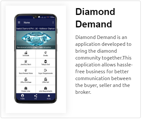 Dimond Demand App