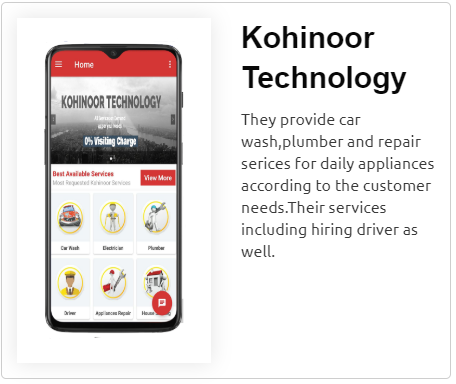 Kohinoor Technology App