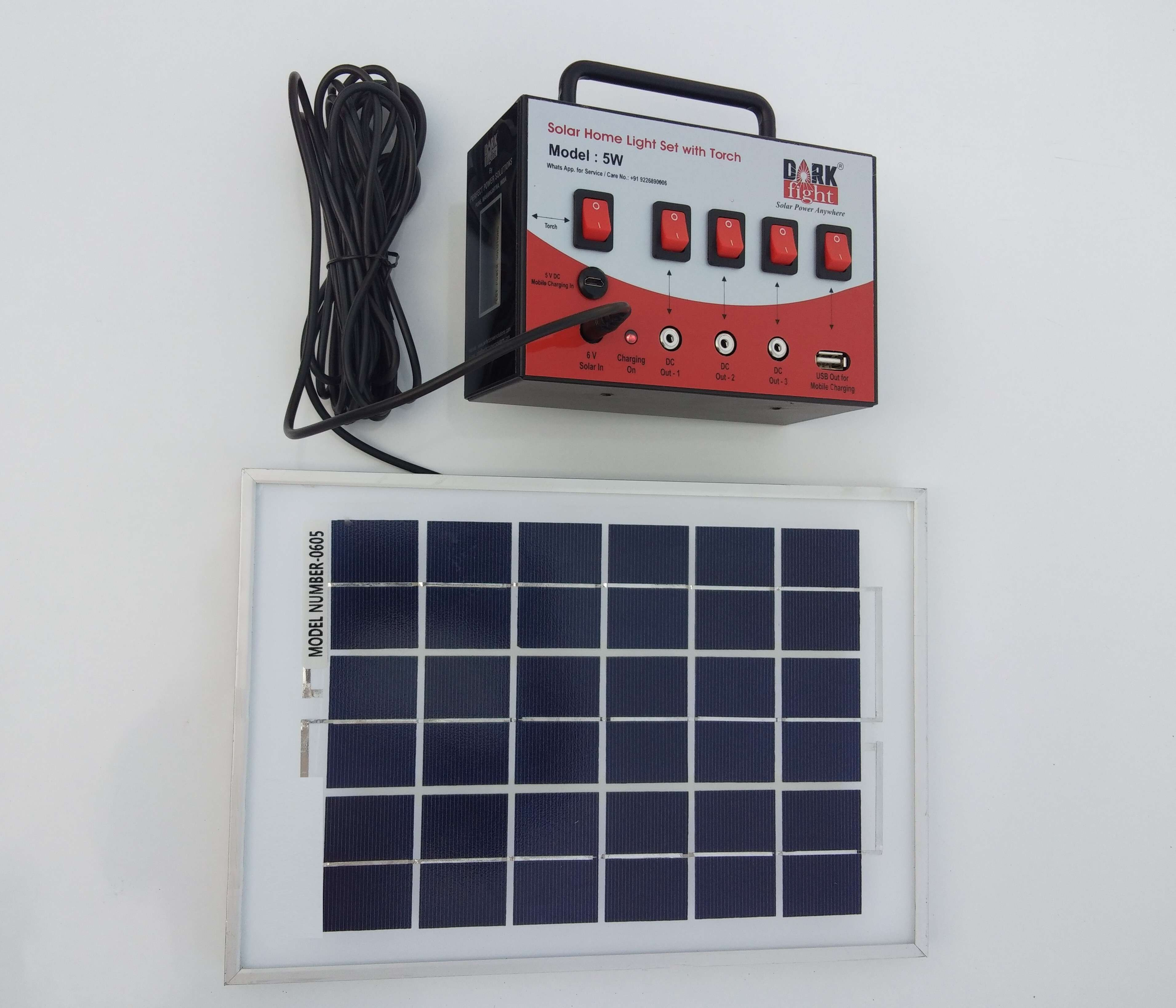 Charging Option with Solar Panel