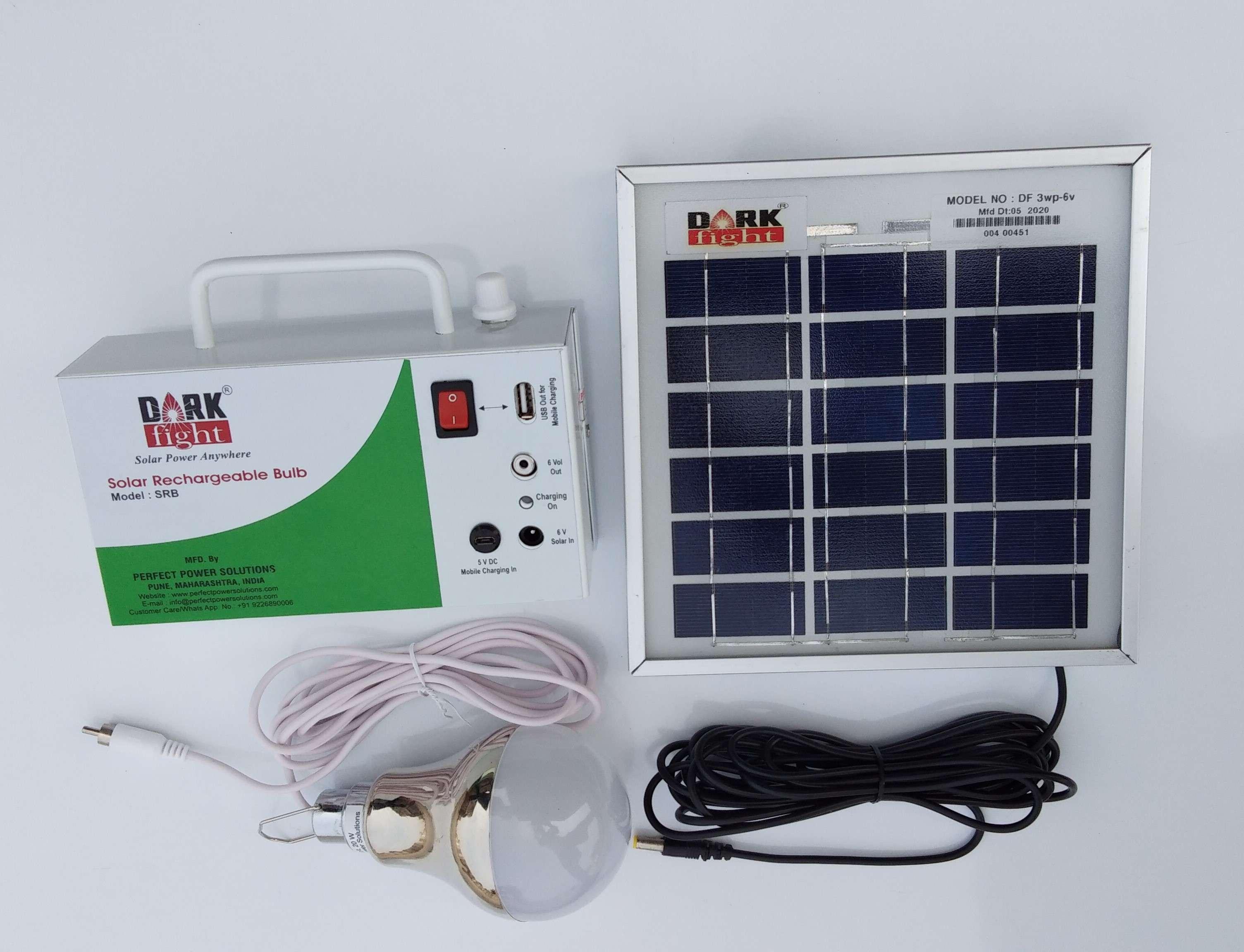 Solar Rechareable Bulb