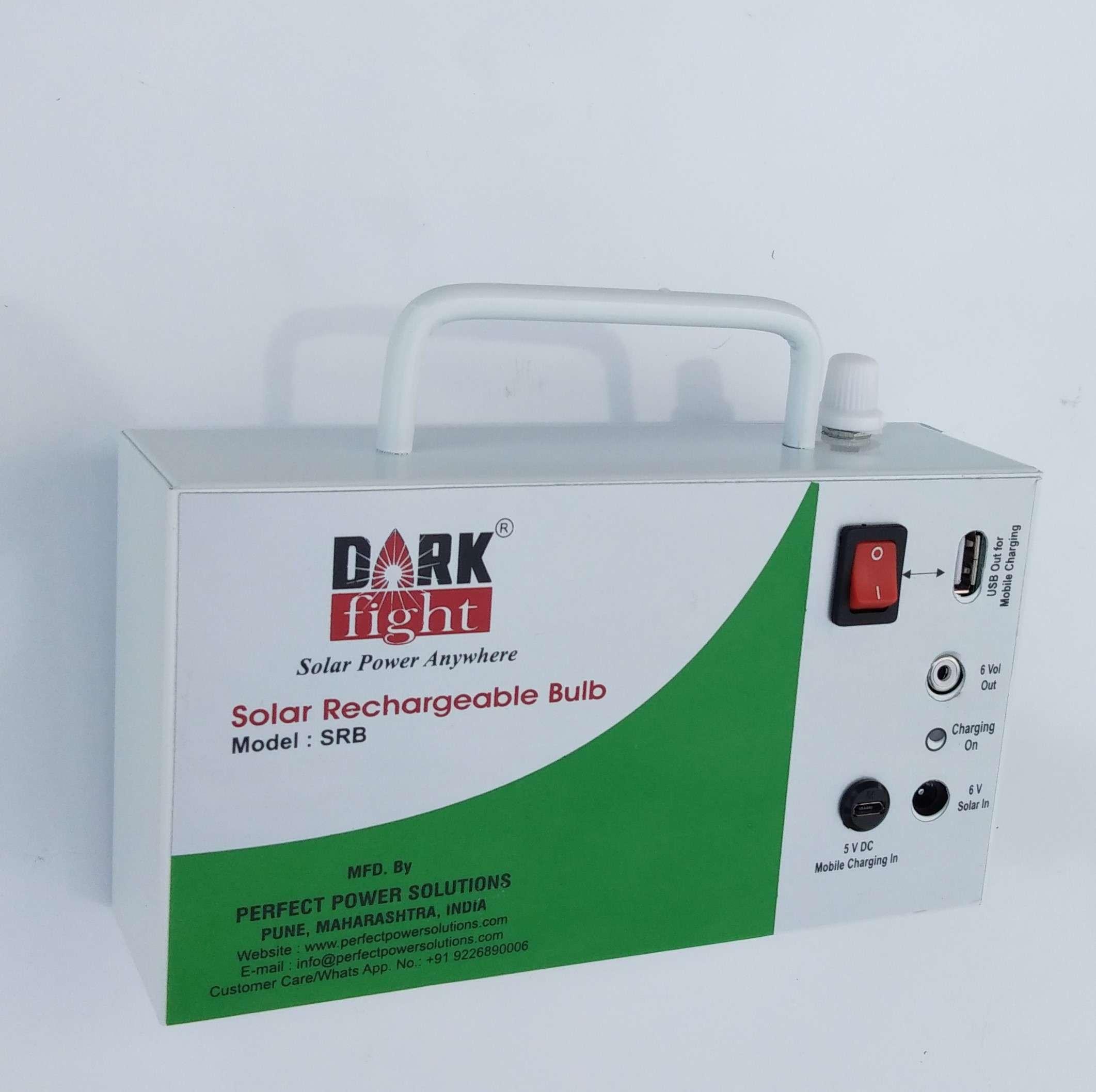 Solar Rechareable Bulb Main Unit