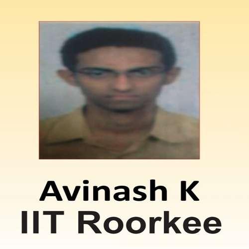 Avinash K ( IIT Roorkee )