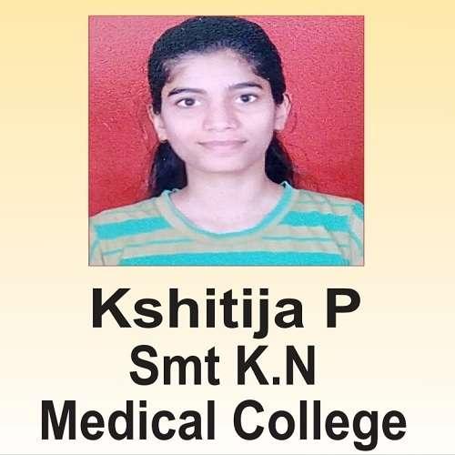 Kshitija P ( K N Medical College )