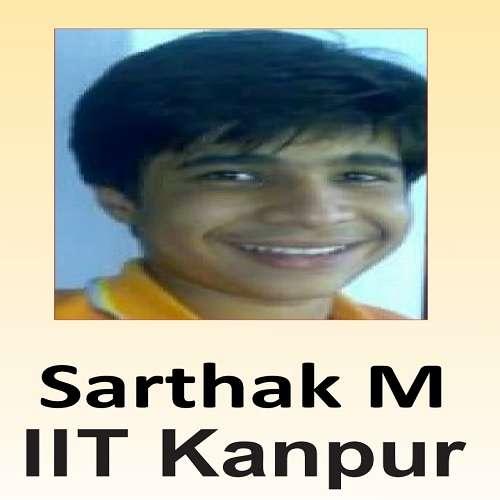 Sarthak M ( IIT Kanpur )